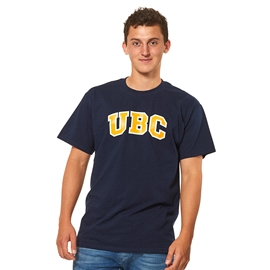 T-shirt - UBC basic screen print Navy