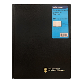 Notebook  - Imprinted UBC Hardcover Notebook