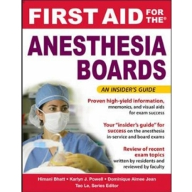 Anesthesiology Boards
