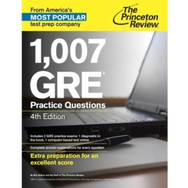 1,007 GRE Practice Questions