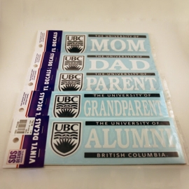 DECAL - 6X2 UBC Parent