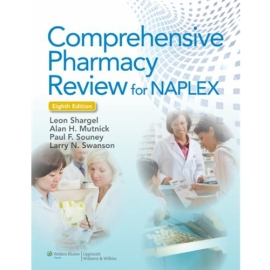 2 PC PKG COMPREHENSIVE PHARMACY REVIEW 8TH EDN W/ PRACTICE EXAMS CASE STUDIES AND TEST PREP