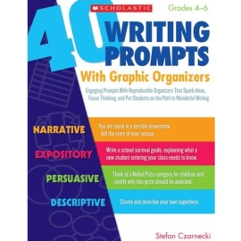 40 Writing Prompts with Graphic Organizers