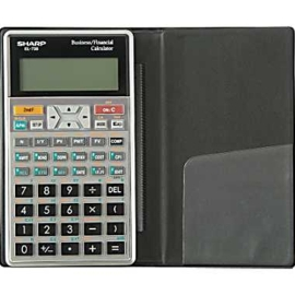 Calculator - EL738c Financial business calculator