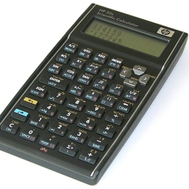 Calculator - HP 35S scientific rpn calculator