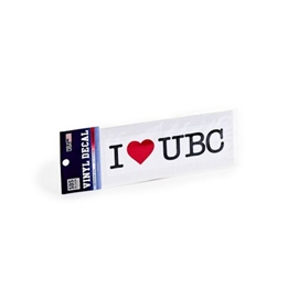 DECAL - 6X2 I Heart UBC