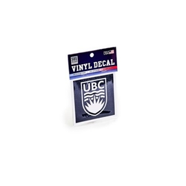 DECAL - 3X3 UBC White Crest
