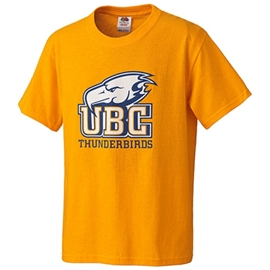 T-Shirt - Youth Thunderbird Gold