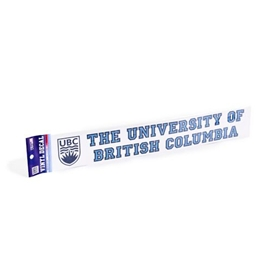 DECAL - 20 University of British Columbia