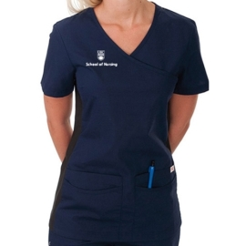 Top - women's scrub ubc nursing
