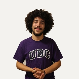 T-shirt - UBC basic screen print Purple