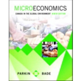 ++ PKG MICROECONOMICS : CANADA IN GLOBAL ENVIRONMENT 9/E W/ ETEXT + MYECONLAB ACCESS CODE