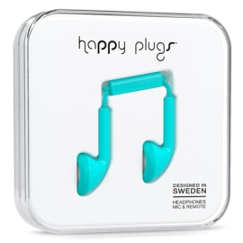 Earbuds - Happy Plugs - turquoise
