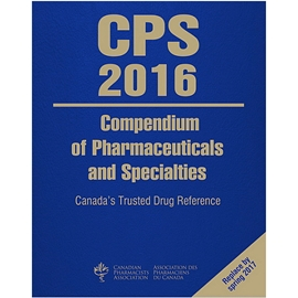 CPS 2016 : COMPENDIUM OF PHARMACEUTICALS AND SPECIALTIES 2 VOL SET