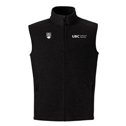 Vest -  men's fleece ubc nursing
