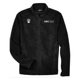 Jacket - men's fleece ubc nursing