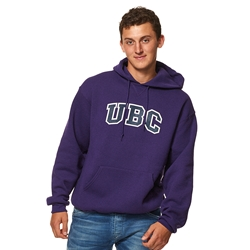 Hoodie - UBC screen print Purple