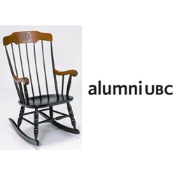 Custom Chair - Boston Rocker with alumniUBC Logo