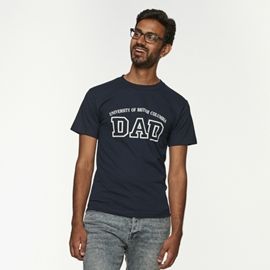T-Shirt - UBC Dad Navy Blue