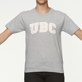 T-Shirt - Youth UBC Arch Screen Grey