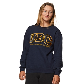 Sweatshirt - UBC Basic Twill Crewneck Navy Blue