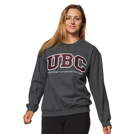 Sweatshirt - Crewneck - UBC Basic Twill Charcoal