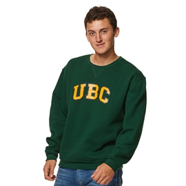 Sweatshirt - Crewneck - UBC Basic Dark Green