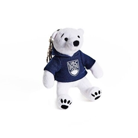 KEYCHAIN - Plush UBC Polar Bear