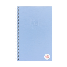 Notebook - UBC Recycled Small 1 Subject Ruled Serenity Blue