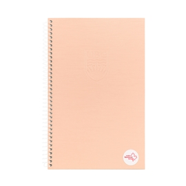 Notebook - UBC Recycled Small 1 Subject Ruled Rose