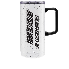 TUMBLER - 20oz UBC Speckled Travel Mug