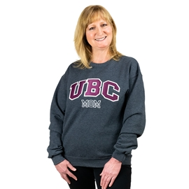 Sweatshirt - UBC Mom Unisex Crewneck Twill Charcoal