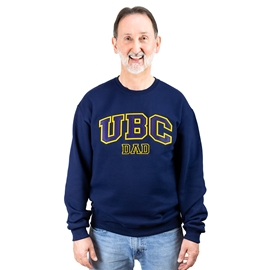 Sweatshirt - UBC Dad Unisex Crewneck Twill Navy