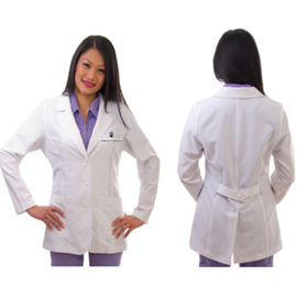 Lab Coat - Excel 4-Way Stretch w/ Buttons