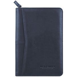 "Padfolio - Sauder Pedova Jr Zipped 9 1/2"" X 6 1/2"" Navy Blue"