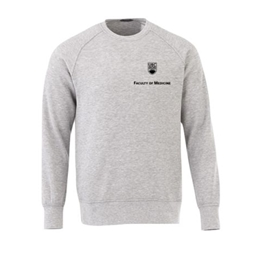 FOM Crewneck - Men's <font color = &quot;red&quot;> Personalized </font> Elevate Sweatshirt Grey