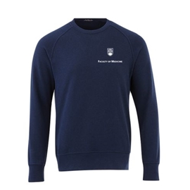 FOM Crewneck - Men's Elevate Fleece Sweatshirt Navy