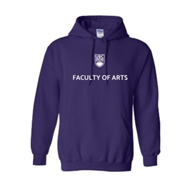 "Arts Sweatshirt  - Classic <font color = ""red""> Personalized </font> Unisex Hoodie Purple"