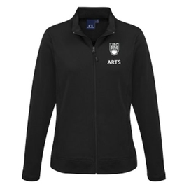 "Arts Jacket - Women's <font color = ""red""> Personalized </font> Hype Drytech Jacket Black"