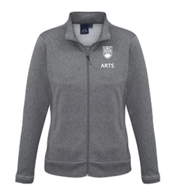 "Arts Jacket - Women's <font color = ""red""> Personalized </font> Hype Drytech Jacket Grey"