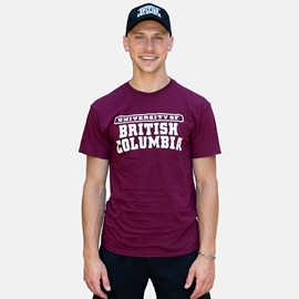 Bundle - Hat and Tee - Black Hat, Maroon T-shirt