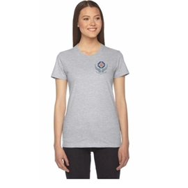Midwifery T-Shirt - Women's American Apparel Short Sleeve Grey