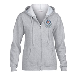 Midwifery Sweatshirt - Women's Heavy Blend Zip-Up Hoodie Sport Grey