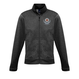 Midwifery Jacket - Men's Hype Full-Zip Jacket Charcoal Marle