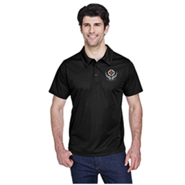 Midwifery Polo - Men's Command Snag Protection Black