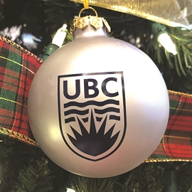 "Homeware - UBC Ornament Matte Silver <font color = ""red"">On Sale</font>"