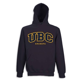 Hoodie - Customizable Family UBC Twill Hood - Navy