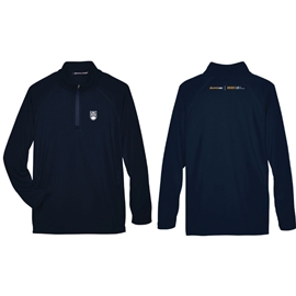 "alumniUBC Pullover - <font color = ""red""> Personalized </font> Men's 1/4-Zip Stretch Tech Shell Pullover"