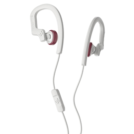 Ear Buds - Skullcandy Chops Flex with Mic Grey/Crimson