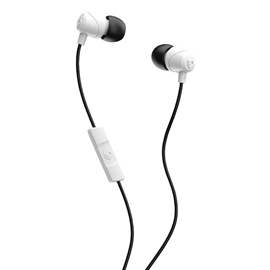 Ear Buds - Skullcandy Jib with Mic White/Black